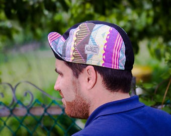 """Cycling cap """"Disco Fluo"""" /Limited Edition/ 5 panel / 2e collection"""