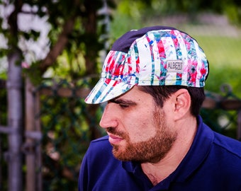 """Cycling cap « FloW ArT"""" /Limited Edition/ 5 panel / 2e collection"""