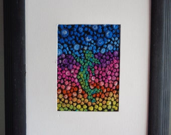 Abstract Mermaid Queen of the Sea SOLD