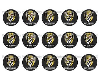 Richmond tigers   Etsy