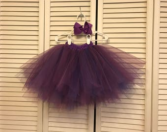 Handmade Tutu with Hair Bow