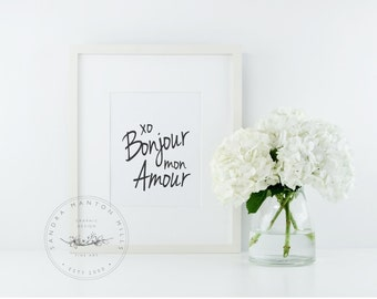 Styled Stock Photography Frame | White Picture frame with White flowers | Styled desktop