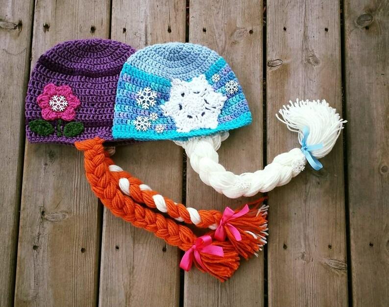 Elsa Hat Anna Hat Olaf Hat Frozen Hats Crochet Hat Custom Etsy