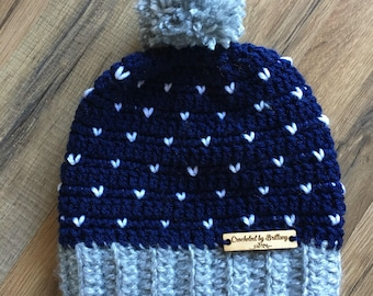Crochet Snowfall Hat