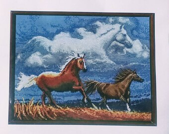 Janlynn Counted Cross Stitch Chart Spirit of the Horse