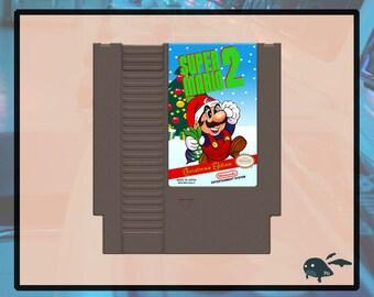 Super Mario Bros 2 Christmas Edition Nintendo Nes Ntsc