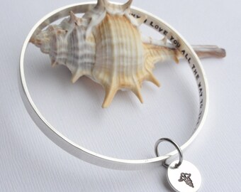 Medical Alert Bangle ~ Personalised with your Details