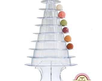 10 Tier Macaron Tower or Display Stand for French Macarons