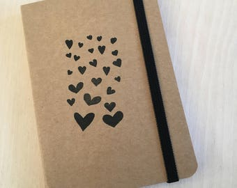 Notebook Hearts A6 (10x15 cm)