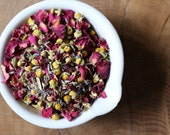 Wildflower Serentity Loose Leaf Tea - rose petals - chamomile - lavender - lemon balm - linden blossom - restful sleep - 30g