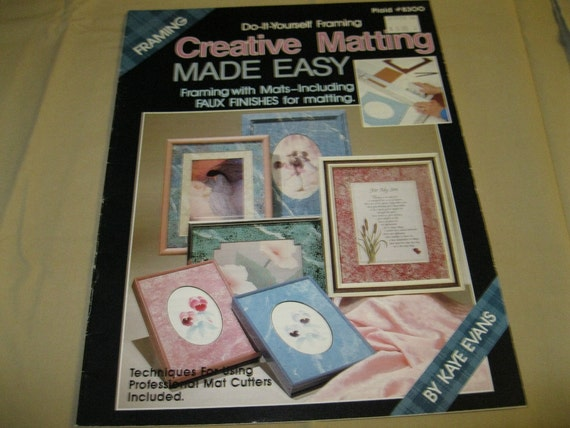 creative matting made easy do it yourself framing etsy