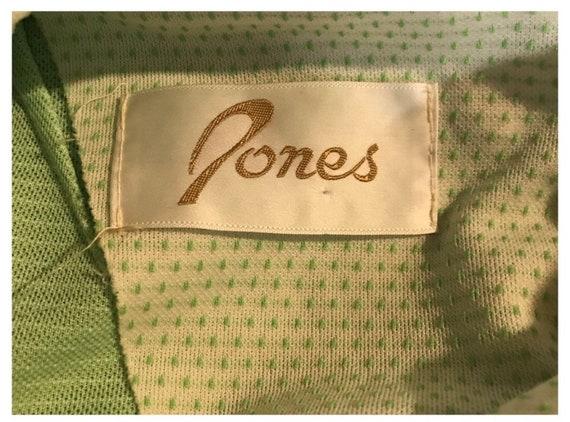 Vintage 1960's long sleeve maxi dress- size 8 - image 2
