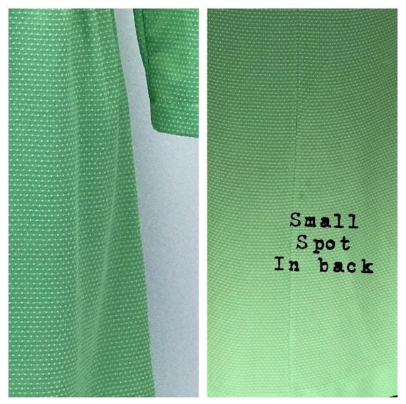 Vintage 1960's long sleeve maxi dress- size 8 - image 4