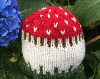 88ddfbfba48 Baby mushroom hat