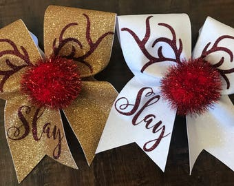 more colors reindeer cheer bow