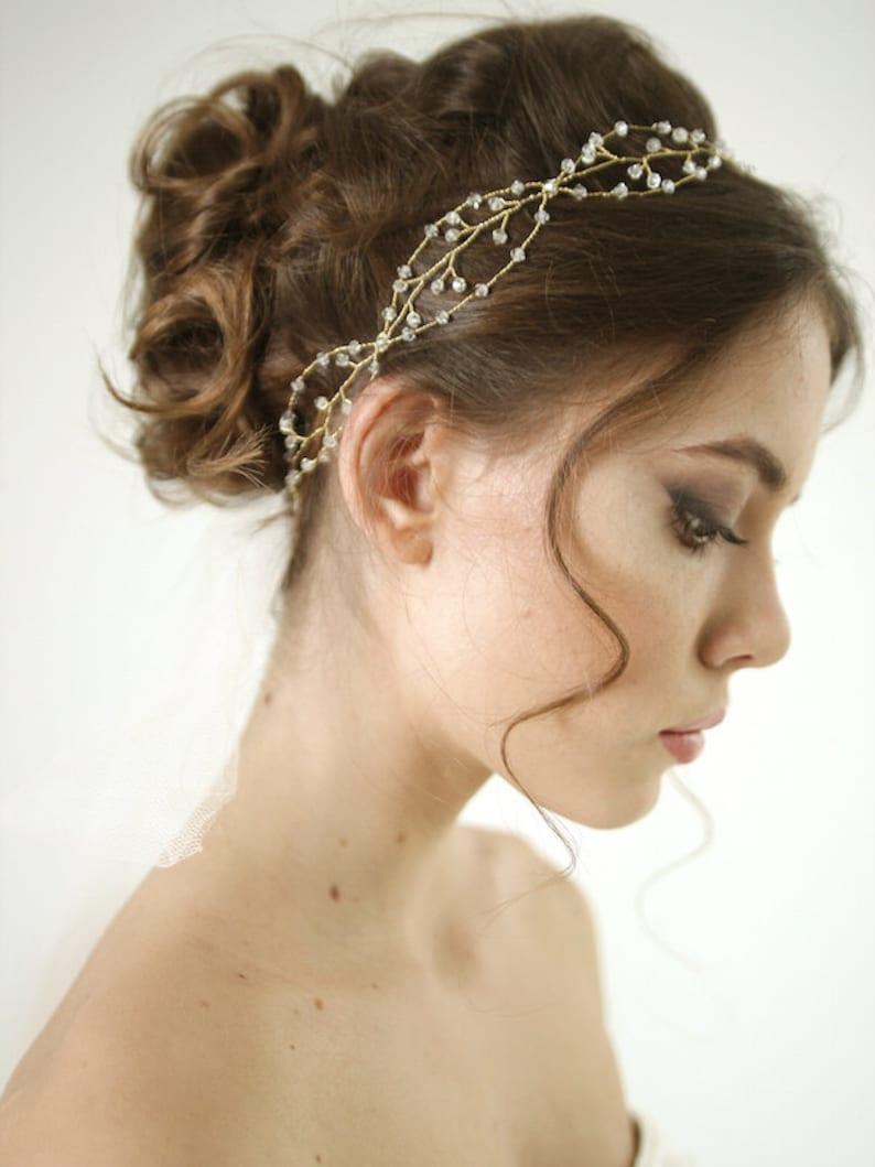 Boho haarsieraad voor bruiden