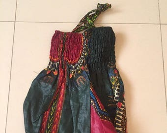 Harem pants kids Dashiki multicolor color combination