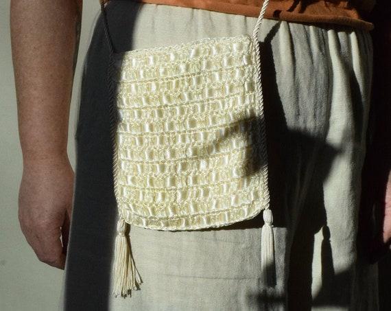 Vintage Woven Ribbon Purse