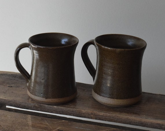 Clay Coffee Mug Set of Two
