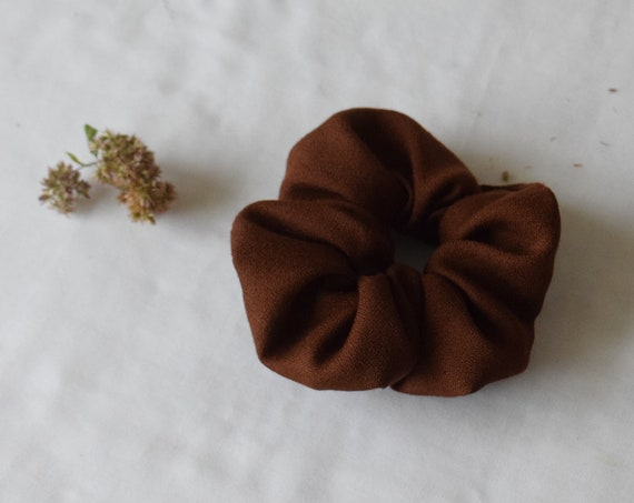 Chestnut Hair Scrunchie