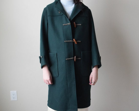 Green Wool Elf Coat