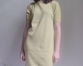 Knit T-shirt Dress  + Print Optional  +