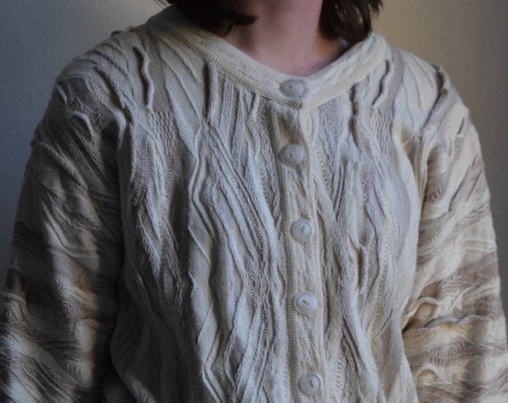 Monochrome Pure Marino Wool Cardigan