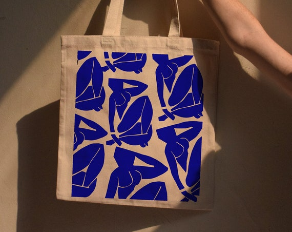 Cut-Out Nudes Tote Bag - Variety of Colors