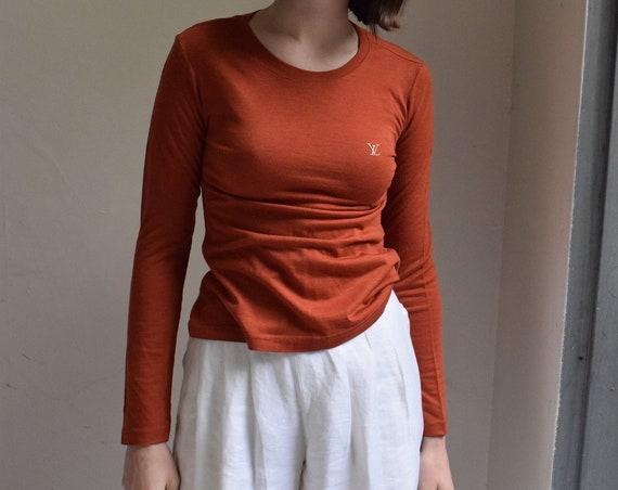 Terracotta Louis Vuitton Long Sleeve T-shirt