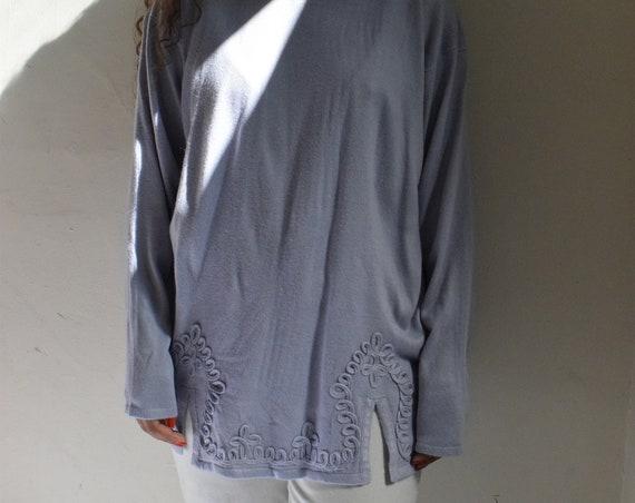 Lavender Memphis Knit Top