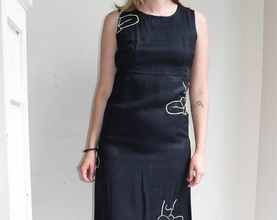 Black Moira Sleeveless Dress