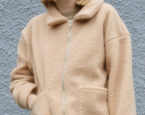Faux Sherpa Jacket.