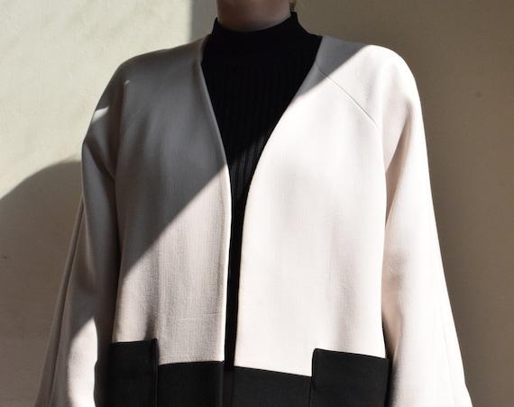 Cream and Black Windsmoor Jacket