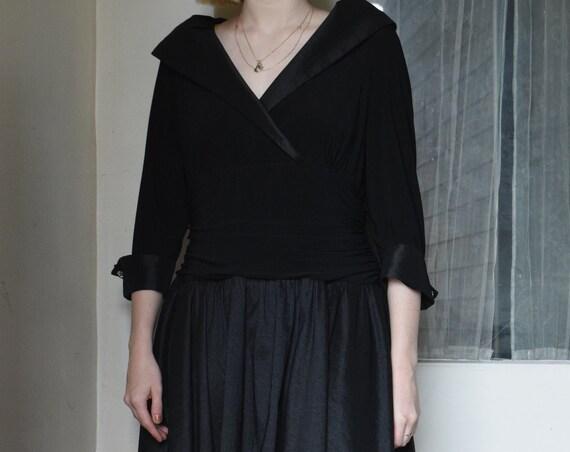 Black Opera Dress