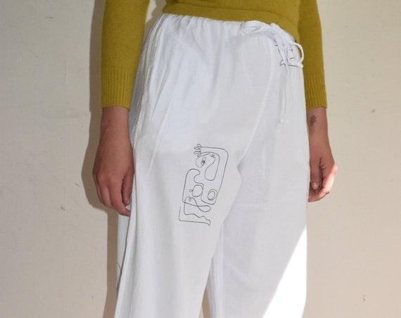 Reina Cotton High Waist Pant