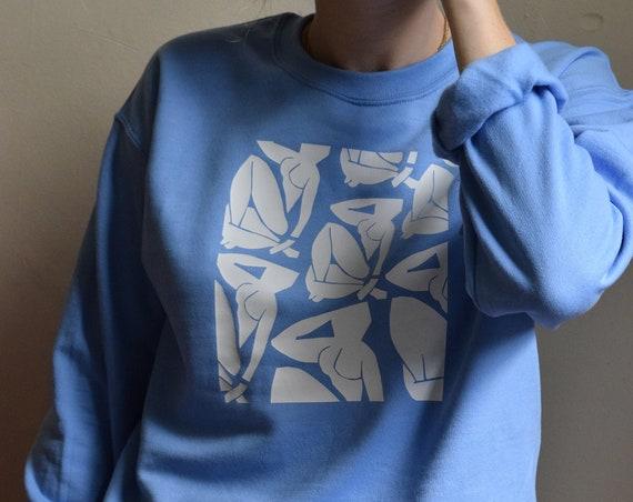 Unisex Powder Crewneck Sweater  |  Customizable