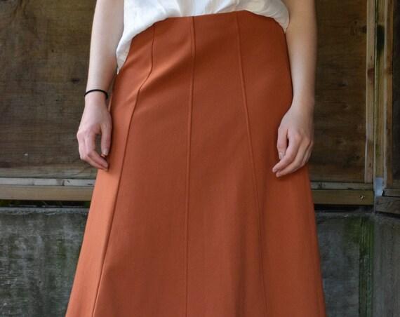 Terracotta Skirt | PRINT OPTIONAL