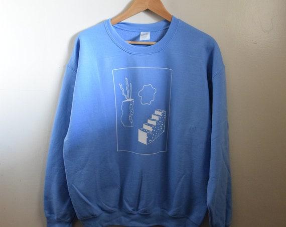 Baby Blue Kida Crew Neck Sweater