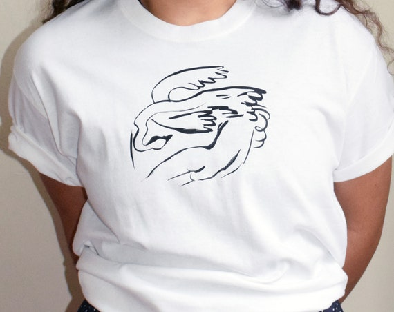 Leda and the Swan Tee  |  Multiple Color Options