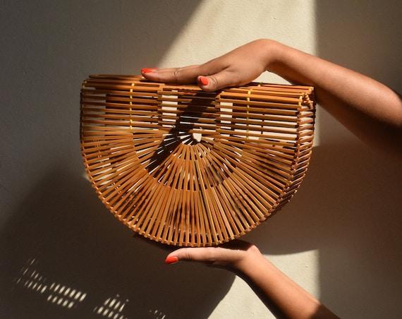 Vintage Japanese Picnic Basket