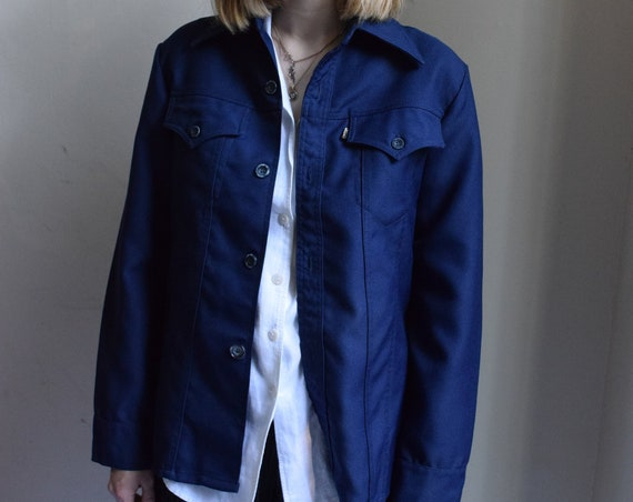 Levis Indigo Work Jacket.