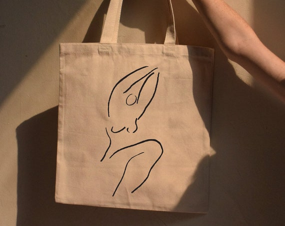 JB x ML  | Meridian Woman Cotton Canvas Tote - Multiple Color Options
