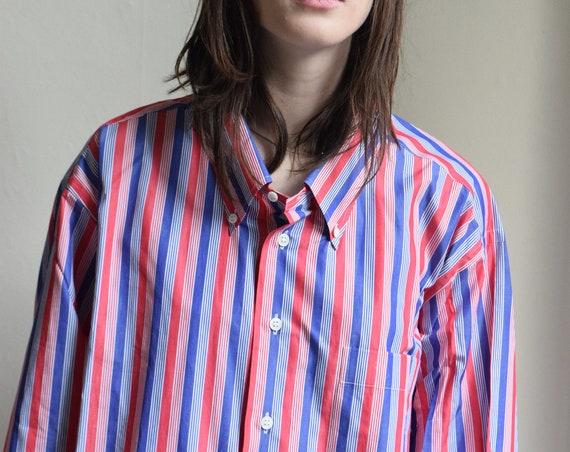 Monaco Striped Cotton Shirt