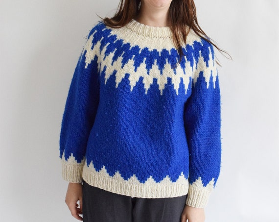 Norwegian Royal Blue Sweater