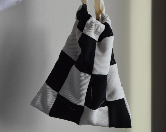 Quilted Checkered Bag