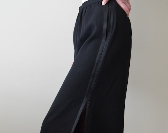 Yves Saint Laurent Black Skirt