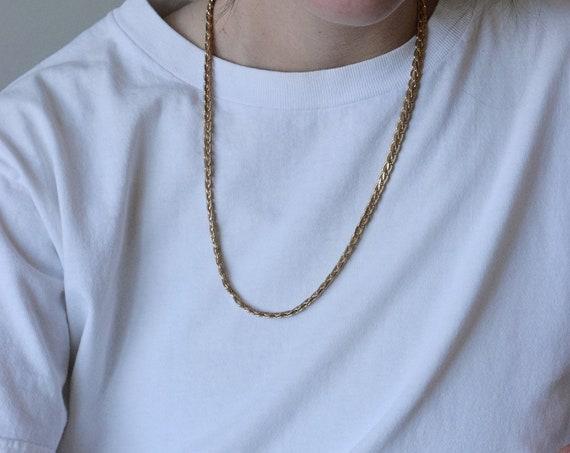 Braided Gold Chain