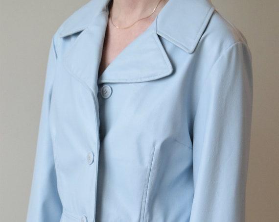Ellabee Faux Leather Jacket