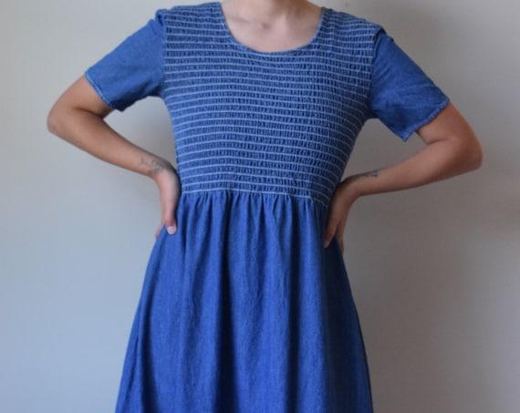 Denim Stretch Dress