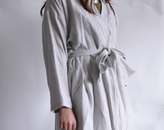 Linder Ladder Stone Grey Robe